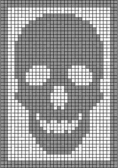 I& got an early Halloween surprise for you, my peeps. Remember my skeleton antimacassar ? That Monster Crochet filet crochet classic? Skeleton Antimacassar Charts by MonsterCrochet on Etsy Monster Crochet New Charts Available From Head Toe The Skeleton co Filet Crochet, Graph Crochet, C2c Crochet, Tapestry Crochet, Crochet Stitches, Crochet Diagram, Crotchet, Cross Stitching, Cross Stitch Embroidery