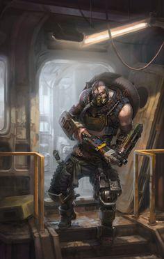 ArtStation - Mutant, Andrey Serov