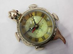 Antique Brass Turtle Watch Tortoise Clocks Home & Table Top Decorative   eBay