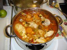 Caldo De Pollo--mexican Chicken Stew/soup