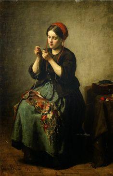 Jules Breton ~ French Realist painter