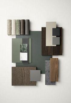 Mood Board Interior, Interior Design Boards, Interior Design Inspiration, Moodboard Interior Design, Interior Design Color Schemes, Interior Design Elements, Design Palette, Küchen Design, House Design