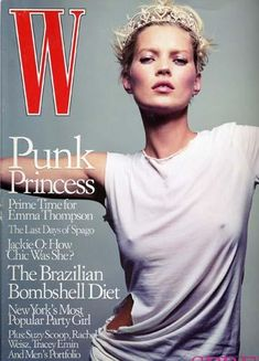 The Queen; Crowned. Kate for W. One of her best covers