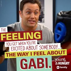 Awwwe! | Young & Hungry Quotes