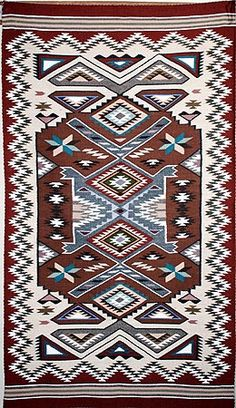 Newlands Navajo rug example 1a