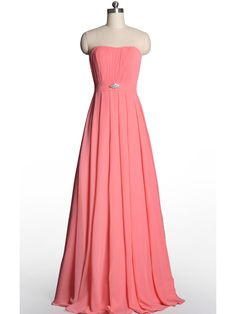 Hot V-Neckline Flowy Pleated Long Pink Tulle Bridesmaid Dresses [TBQP309] - $176.00 : Custom Made Wedding, Prom, Evening Dresses Online | Tulle & Chantilly