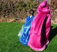Capa para el disfraz de Frozen | votaDIY Baby Car Seats, Diy, Children, Fashion, Vestidos, Costumes, Princesses, So Done, Homemade