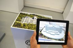 Augmented reality marketing for luxury Swiss penthouse. Pop Display, Experiential, Augmented Reality, Alternative, Technology, Marketing, Luxury, Frame, Creative