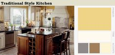 Tips on how to decorate a traditional style kitchen