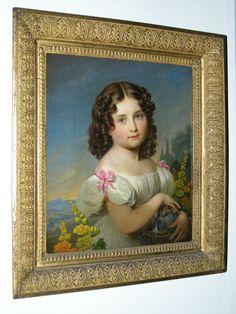 """Princess Augusta of Cambridge (1822-1916)"", Georg Friedrich Reichmann, ca. 1827; Royal Collection Trust 402481"