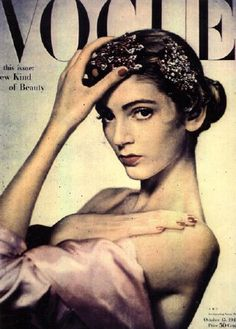 young Carmen Dell' Orefice for Vogue #model #Vogue  1950's