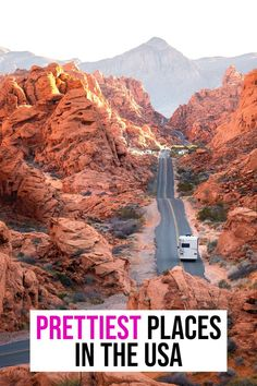 Looking for the prettiest places to see in the USA? This USA bucket list is filled with destinations across the country. Vacation Places, Vacation Trips, Vacation Spots, Places To Travel, Usa Travel Guide, Travel Usa, Travel Guides, Travel Tips, Bucket List Destinations