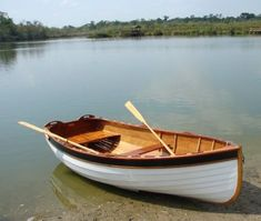 Boats small fishing wooden strip