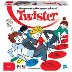 The Twister Game official website. Find the classic Twister board game, new fun games, apps and videos here brought to you by Hasbro! Teenage Party Games, Fun Teen Games, Teenage Parties, Teen Fun, Games For Teens, 80s Birthday Parties, 80s Party, Sleepover Party, Pajama Party Games