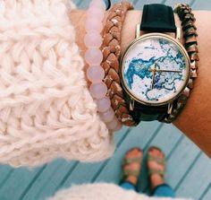 watch + bracelets {☀︎ αηiкα | mer-maid-teen.tumblr.com}