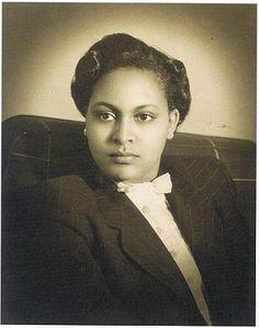 Her Imperial Highness Princess Sara Gizaw, Duchess of Harrar Wife of Prince Makonnen Duke of Harrar, the second son of Emperor Haile Selassie of Ethiopia