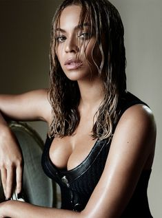 Beyoncé for Vogue Magazine by Mario Testino