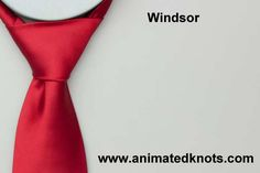 Animation: Windsor Knot Tying (Household)