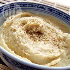 Humus bajas calorías @ allrecipes.com.ar
