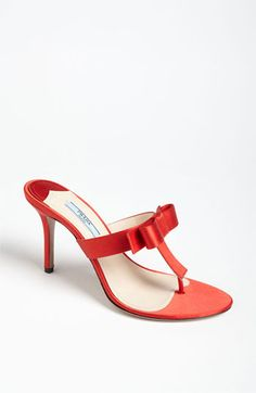 Prada Bow Thong Sandal available at #Nordstrom