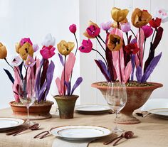 DIY Flowers: Make These Beautiful Paper Tulips