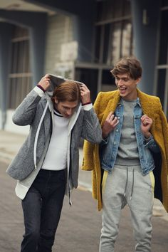 ARISTOTELI BITSIANI presents HIGHER, the official fashion campaign revealing Fall/Winter 2018-2019 collection inspired by the 90's. Fashion Wear, Boho Fashion, Mens Fashion, Street Fashion, Fashion Outfits, Beautiful Boys, Pretty Boys, Athletic Couples, Bohemian Men