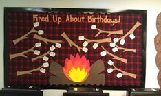 Classroom Camp Theme Ideas | Camp Theme Birthday Bulletin Board