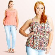 Save up to 55% off during the City Chic Plus-Size event on #zulily today!