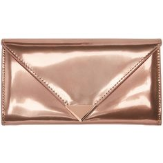 Alexander Wang Rose Gold Prisma Wallet (705 SGD) ❤ liked on Polyvore featuring bags, wallets, rose, rose gold bag, snap closure wallet, hardware bag, beige bag and credit card holder wallet