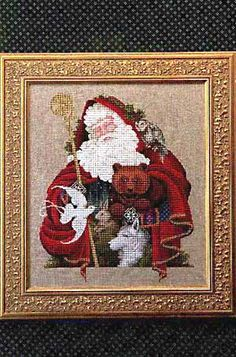Santa of the Forest - Cross Stitch Pattern