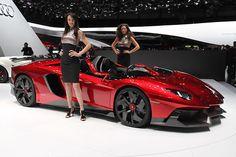 Lamborghini Aventador J Super Rare Cars