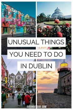 There are so many free, unique and unusual things to do in Dublin that not many tourists know about. Check out this Dublin travel guide written by a local. #dublintravel #uniquedublin #irelandtraveltips #dublintraveltips #dublinguide #thingstodoforfreeindublin #thingstodoindublin