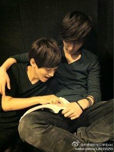 predebut jongdae and yixing How cute!!!