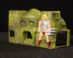Castle Grayskull Camera - He-Man - Masters of the Universe - Vintage Toy Hee Man, She Ra Princess Of Power, Vintage Toys, Transformers, Masters, Castle, Universe, Board, Collection