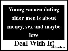 women dating older men for money