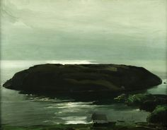An Island in the Sea- George Bellows