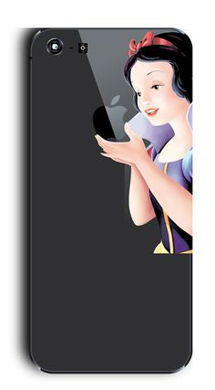 Snow white Iphone Apple Mac DecalSkin Iphone skin by nowaygallery, $8.90