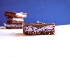 Blueberry Cream Bars