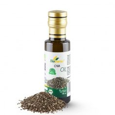 Certified Organic Cold Pressed Chia Oil 100ml Biopurus Chia seeds have the best concentrations of Omega-3 and Omega-6 fatty acids. Omega-3 and Omega-6 fatty acids play an important role in the care for our cells, our skin and our organs. They ensure the absorption of fat-soluble vitamins such as D, E and K and they improve the ability to concentrate and the mood in general. A tea-spoon of the oil contains as much calcium as two glasses of milk...