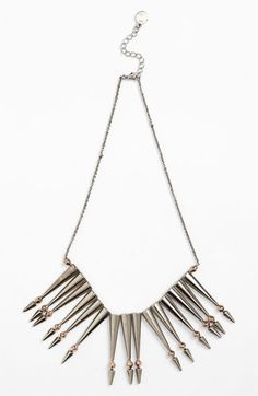 This is another great example of mixing metallics to mimic the warm and cool facial and hair combinations. House of Harlow 1960 'Nomadic Warrior' Arrow Necklace | Nordstrom