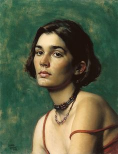 Daniel E. Greene, N. (American) 'Caroline' The modern day master!my favorite portrait artist, with John Singer Sargent being the first. Oil Portrait, Female Portrait, Woman Portrait, Pastel Portraits, Painted Ladies, Wow Art, Woman Drawing, Painting Videos, Women Life