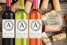 Excited to share the latest addition to my #etsy shop: Wine bottle labels, Wine Labels, Wine Bottle label for anniversary, Anniversary party labels, Wine bottles party wrap, Printable wine label http://etsy.me/2FYSxzd #papergoods #tag #anniversarylabel #anniversarywrap