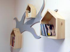 półka dekoracja tree branch półka domki