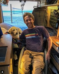 adapted van living in key west, fl. >>> See it. Believe it. Do it. Watch thousands of spinal cord injury videos at SPINALpedia.com Spinal Cord Injury, Van Living, Key West, Tiny House, Watch, Videos, Fitness, Travel, Key West Florida