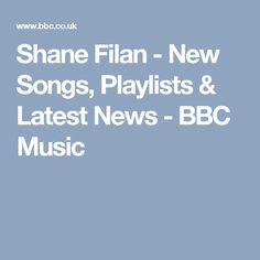 Shane Filan - New Songs, Playlists & Latest News - BBC Music