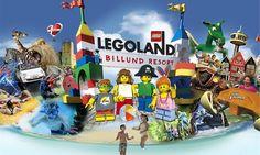 Imagine a world built with 60 million LEGO® bricks. Enjoy Scandinavia's biggest water park in Legoland! #ArrivalGuides #travel