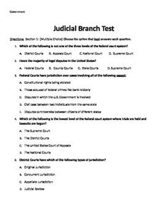 judicial branch the governments ear essay We would have to turn a partially deaf ear to the  you suggest that my essay was flawed  the constitutional limits placed on the judicial branch no.