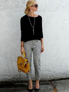 Fashion Fix: Broek met print - My Simply Special