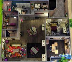 Luniversims: Apartment Renovation by nathalieheya • Sims 4 Downloads Check more at http://sims4downloads.net/luniversims-apartment-renovation-by-nathalieheya/