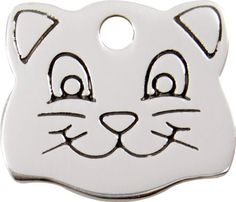 Pet Id Tag Round Plastic Frame Tag Our Custom Engraved